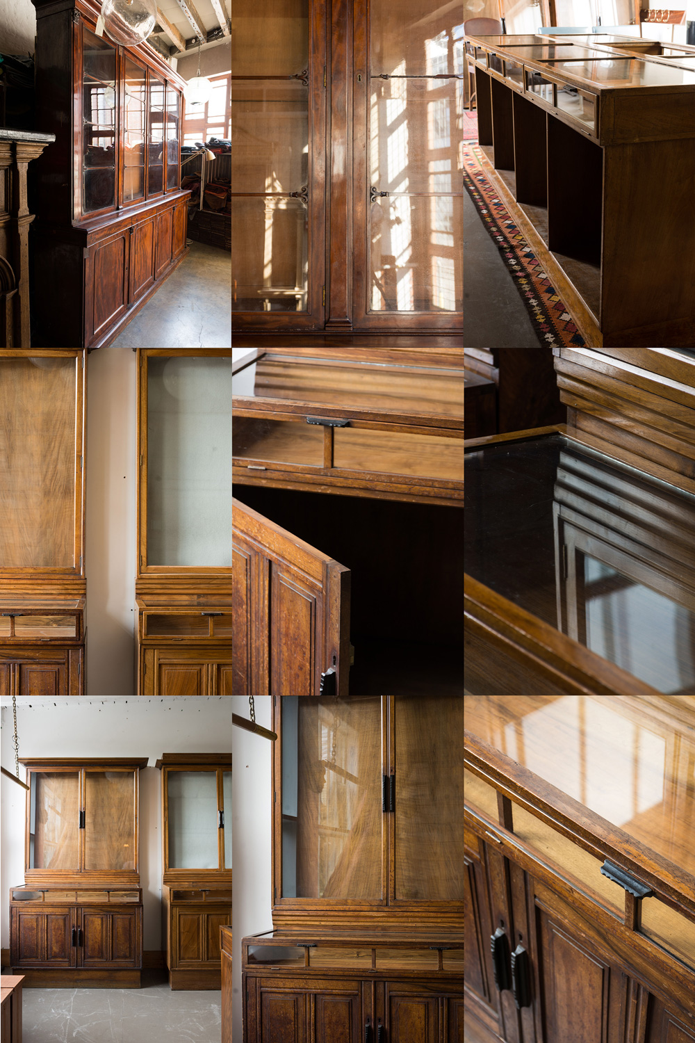 Arts & Crafts cabinets from Maggs Bros. LTD → Retrouvius ...